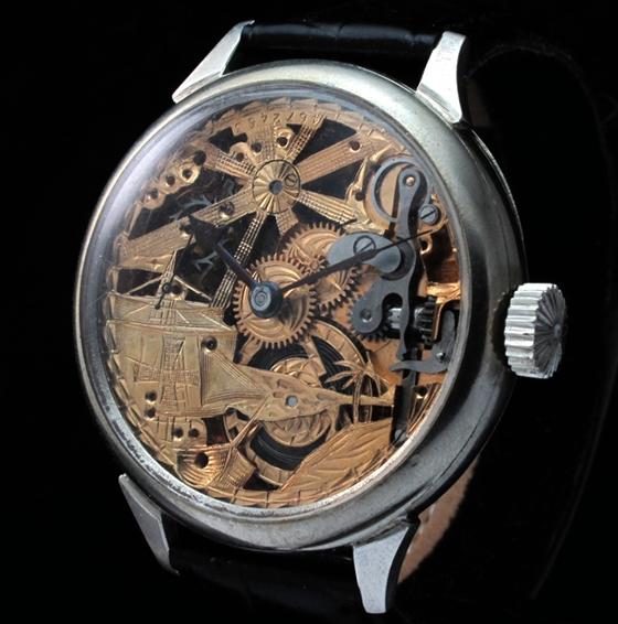 Механические часы skeleton Ассортимент